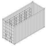 Einzelcontainer für Material MC1