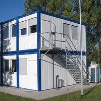 Wohncontainer Bürocontainer mehrgeschossig Stockwerke