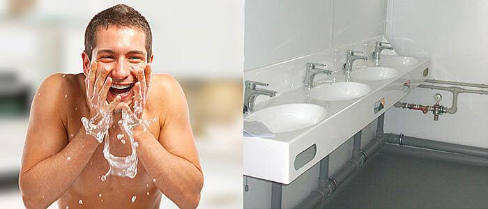 Sanitaercontainer Vermietung Toilettencontainer mieten Duschcontainer