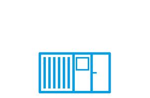 Einzelcontainer / Standardcontainer ✓mieten ✓kaufen ✓leasen: Planungsbeispiele, Bildgalerien, Preise