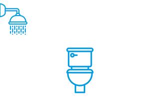 Sanitärcontainer mit Duschen, Toiletten ✓mieten ✓kaufen ✓leasen: Planungsbeispiele, Bildgalerien, Preise