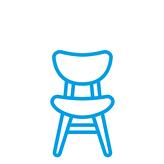 icon mobiliar stuhl