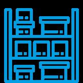 icon buero lagercontainer